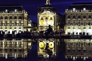 Bordeaux streets - Place de la Bourse
