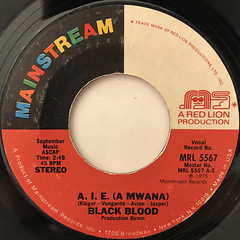 BLACK BLOOD:A.I.E.(A MWANA)(LABEL SIDE-A)
