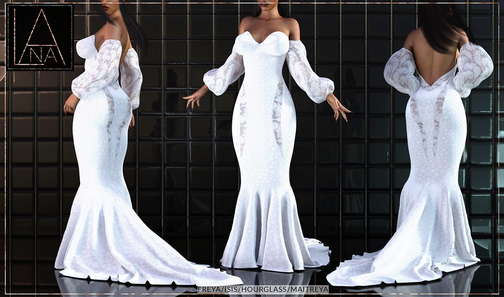 #LANA – The Blanca Dress