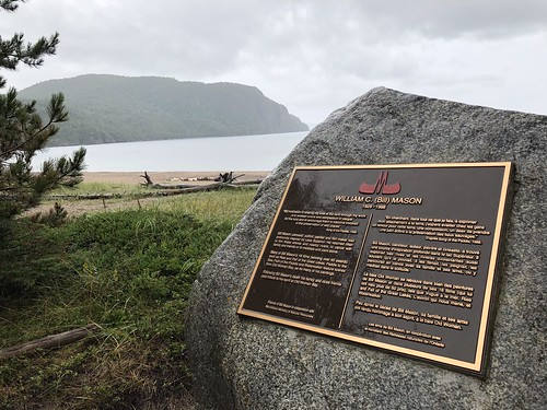 Lake Superior Park Bill Mason Plaque