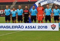BRASILEIRÃO 2018 - VITÓRIA X CORINTHIANS - FOTOS: MAURICIA DA MATTA / EC VITÓRIA