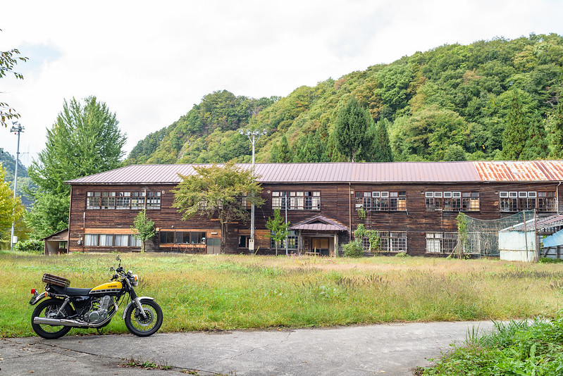 Old elementary school at Nobushina NAGANO