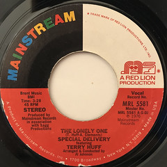 SPECIAL DELIVER FEATURING TERRY HUFF:THE LONELY ONE(LABEL SIDE-A)