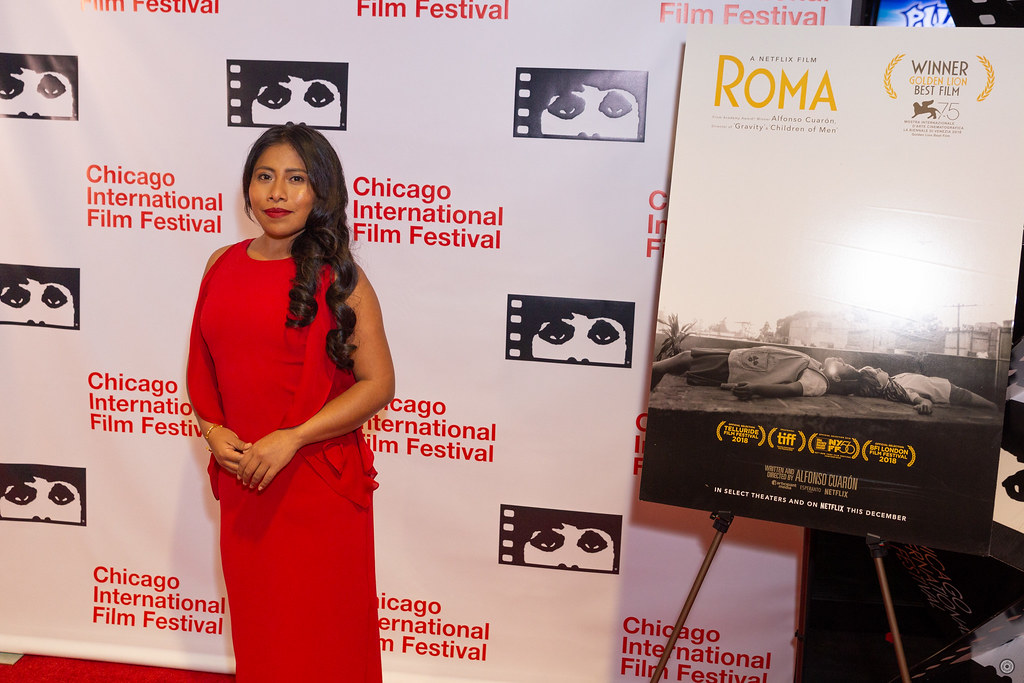 Gala Presentation - Roma | Actress Yalitza Aparicio Photo by… | Flickr