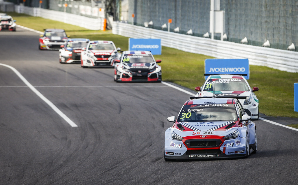 30 TARQUINI Gabriele, (ita), Hyundai i30 N TCR team BRC Racing, action during the 2018 FIA WTCR World Touring Car cup of Japan, at Suzuka from october 26 to 28 - Photo Francois Flamand / DPPI