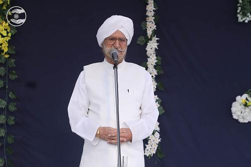 President SNM, Gobind Singh from Jalandhar Punjab