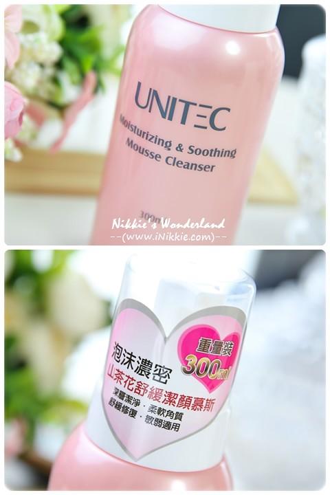 UNITEC彤妍 山茶花舒緩潔顏慕絲