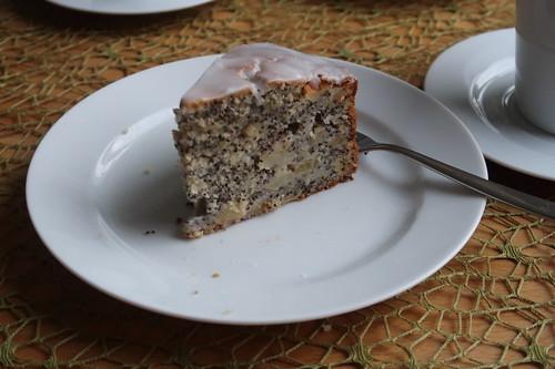 Apfel-Mohn-Kuchen (mein 2. Stück)