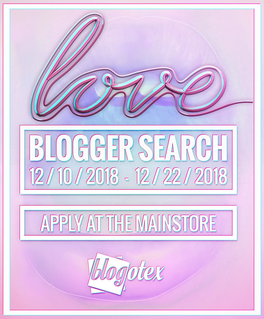 Love [Blogger Search] December 2018!