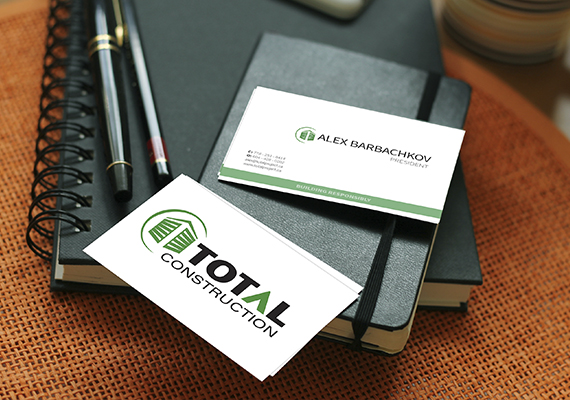 Design for the company &#171Total construction&#187.
