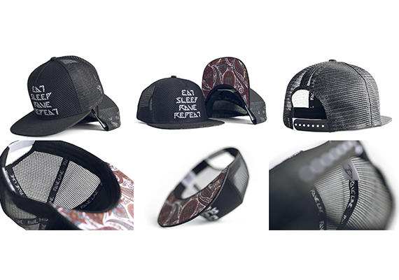 Two in one. Cap design and product photography. Those caps available on Canadian Amazon, if you like it