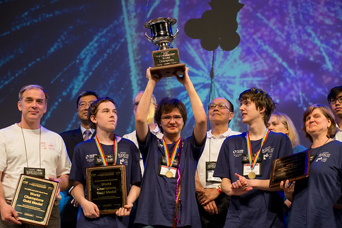 ICPC World Finals 2018 World Champions by Randy Piland