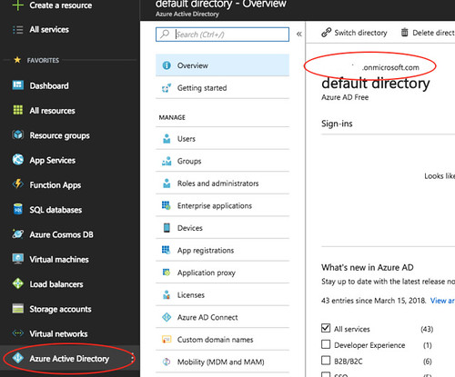 Azure Active Directory Tenant