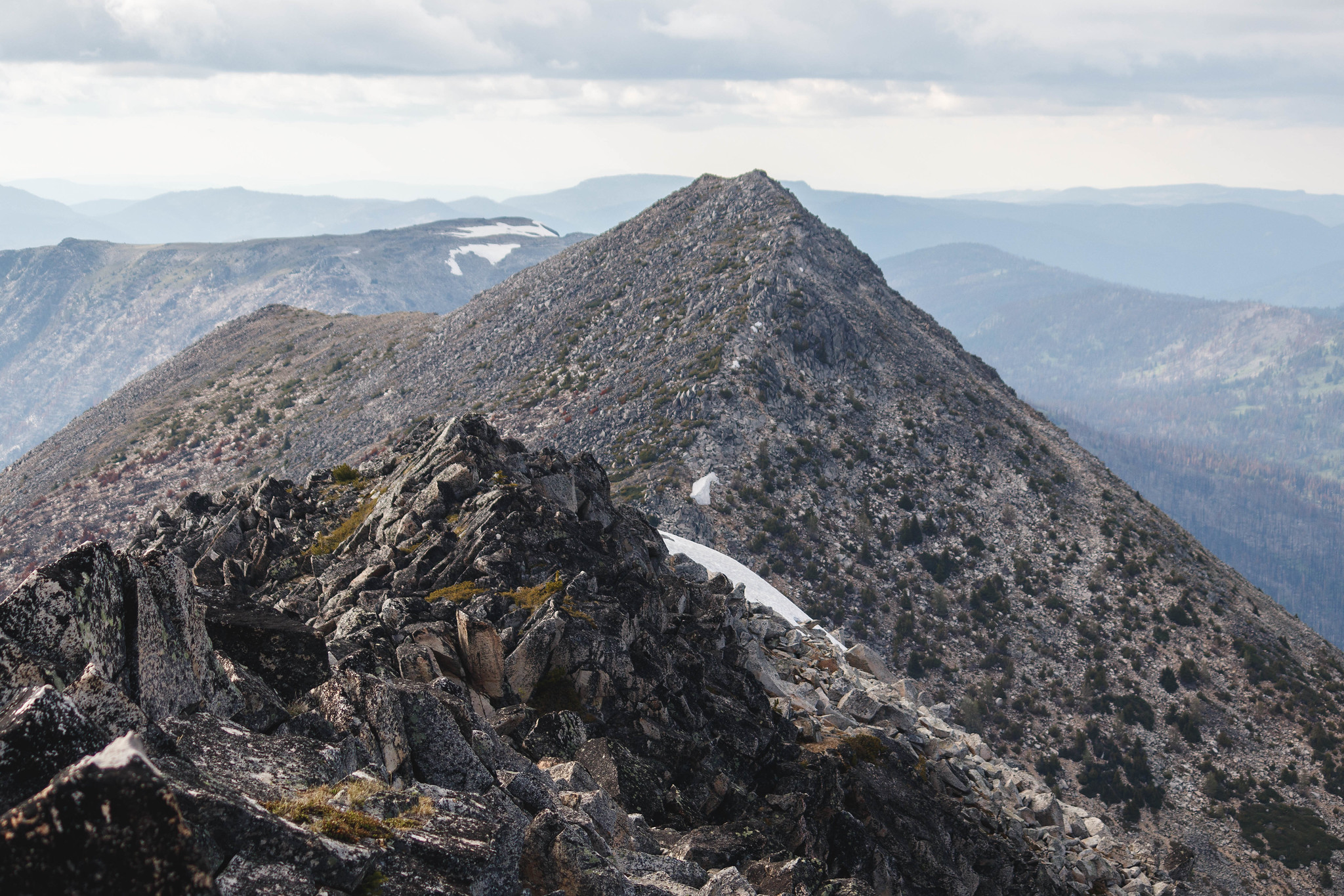 Next stop, Amos Peak